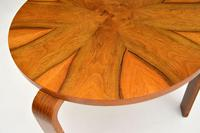 Pair of Vintage Walnut Bentwood Stacking Stools / Side Tables (5 of 8)