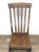 Antique Ash & Elm Rocking Chair (6 of 7)