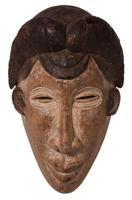Carved African Mask (4 of 4)