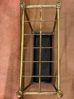 Late 19th Century Brass & Cast Iron 12-Section Stick / Umbrella Stand (2 of 4)