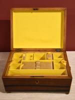 Regency Tonbridge Ware Castle Rosewood Sewing Box (5 of 8)