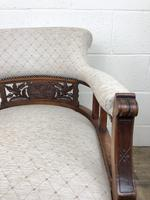 Pair of Victorian Mahogany Tub Chairs (17 of 17)