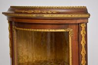 French Inlaid  Marquetry Corner Cabinet (8 of 8)