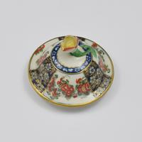 First Period Worcester Porcelain Kakiemon Vase & Cover Ex-zorensky (10 of 13)