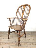 Late Victorian Ash & Elm Windsor Armchair (4 of 7)