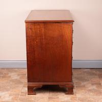 Mahogany Kneehole Desk With Brushing Slide (2 of 17)