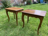 Pair of Walnut Side Tables (6 of 6)