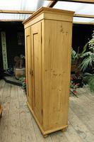 Fabulous! Georgian! Old Pine Two Door Cupboard with Shelves - We Deliver! (5 of 15)