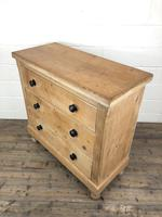Antique Victorian Pine Chest of Drawers (9 of 9)