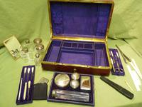 Quality French Fitted Travel – Vanity Box. c1880 (8 of 13)