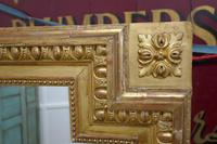 Very Large French Gilt Over Mantle Mirror (6 of 7)