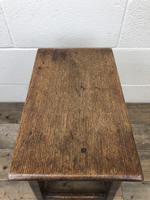 Antique 18th Century Oak Stool (9 of 10)