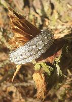 Diamond Half Eternity Ring (5 of 5)