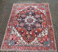 Fine Antique Heriz Room-size Carpet 389x283cm (2 of 11)