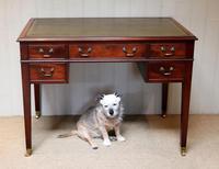 Large Mahogany Writing Desk (10 of 11)