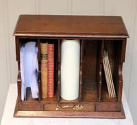 Oak Stationery / Letter Rack