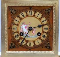 French Egyptian Revival Bronze Gilt Mantel Clock by Achille Brocot (3 of 12)
