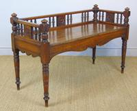 Good Aesthetic Mahogany Window Seat by Henry Pitts of Leeds (7 of 12)