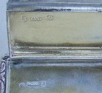 Georgian silver snuff box by Thomas & William Simpson, Birmingham 1824 (3 of 10)