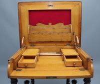 Early 20th Century Metamorphic Oak Desk (6 of 8)