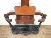 Antique Victorian Mahogany Tree Shaped Hall Stand (3 of 10)