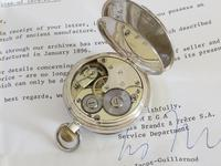 Antique Silver Omega Pocket Watch (3 of 4)