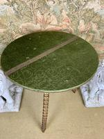 19th Century Gypsy Table With Gilt Legs (4 of 5)