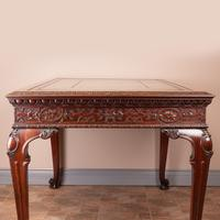 Superb Quality Mahogany Chippendale Design Writing Table (17 of 23)