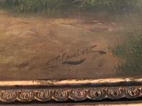 Edwin J Lambert Oil on Canvas (5 of 5)