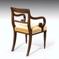 Good Set of Regency Period 4+2 Mahogany Framed Chairs (3 of 4)