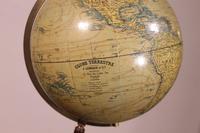 Terrestial Globe From J.lebègue & Cie Circa 1890 From Paris (9 of 12)