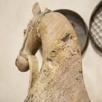 Large 19th Century Carved Indian Horse - Original Paint (6 of 14)