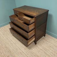 Early 18th Century Country House Antique Oak Chest Of Drawers (8 of 8)
