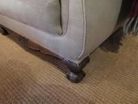 Top Quality Antique Walnut Three Seater Settee (8 of 10)