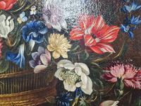 18th Century Flemish Painting, Oil on Panel (4 of 10)
