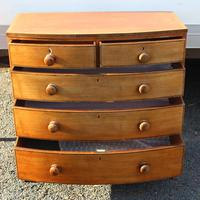 1900s Quality Mahogany Chest of Drawers with Inlay (2 of 4)