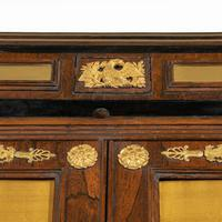 Pair of Regency Brass Inlaid Rosewood Side Cabinets (8 of 17)
