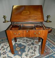 Chippendale period mahogany architect's table (7 of 9)