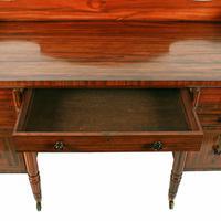 Rare George IV Zebra Wood Dressing Table (4 of 8)