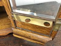 Antique Edwardian Oak Smoker's Cabinet (M-1571) (5 of 12)