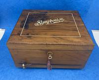 Victorian  Walnut Symphonian Music Box (2 of 22)