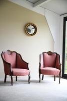 Pair of Edwardian Tub Armchairs (12 of 13)