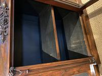 Rosewood Breakfront Bookcase (14 of 15)