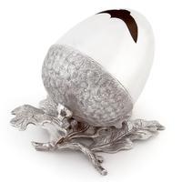 Victorian Roberts & Belk Acorn Shaped Silver Plated Spoon Warmer (4 of 5)