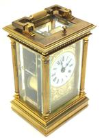 Fine French Repeat Carriage Clock with Foliate Carved Decoration By Charles Frodsham London (7 of 12)