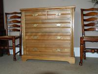Edwardian Ash Chest of Drawers (7 of 7)