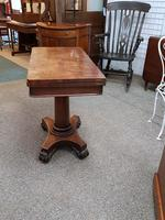 Antique card table (5 of 5)