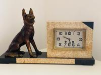 Art Deco Onyx Clock (3 of 5)