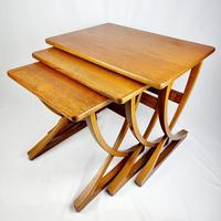 Nathan X-frame Legged Nest of Tables (4 of 11)
