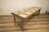 Early 20th Century French Painted Refectory Table (5 of 14)
